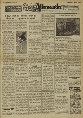 De Vrije Alkmaarder 1950-01-04