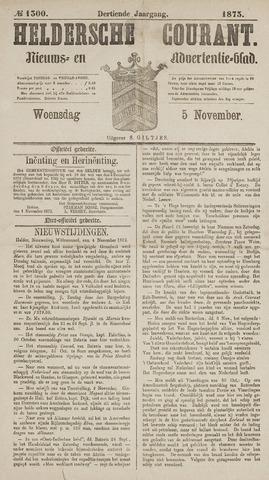 Heldersche Courant 1873-11-05