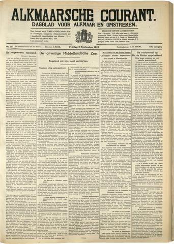 Alkmaarsche Courant 1937-09-03