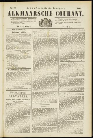 Alkmaarsche Courant 1889-07-31