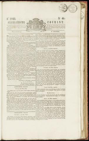 Alkmaarsche Courant 1843-10-09