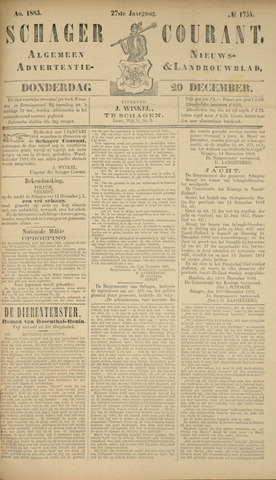 Schager Courant 1883-12-20