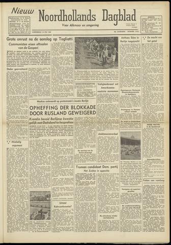 Nieuw Noordhollandsch Dagblad : voor Alkmaar en omgeving 1948-07-15