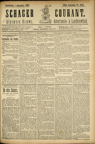 Schager Courant 1895-08-01