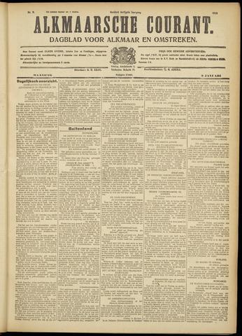 Alkmaarsche Courant 1928-01-09