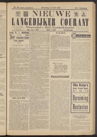 Nieuwe Langedijker Courant 1929-07-27