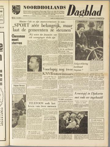 Noordhollands Dagblad : dagblad voor Alkmaar en omgeving 1960-02-18