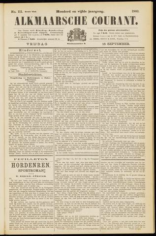 Alkmaarsche Courant 1903-09-18