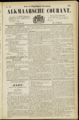 Alkmaarsche Courant 1892-04-29