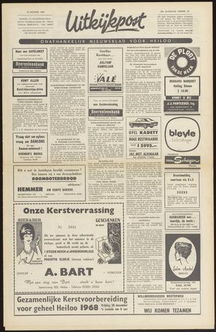 Uitkijkpost : nieuwsblad voor Heiloo e.o. 1968-12-12