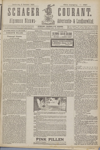Schager Courant 1920-10-02