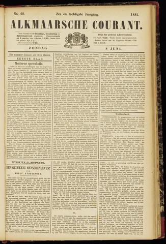 Alkmaarsche Courant 1884-06-08