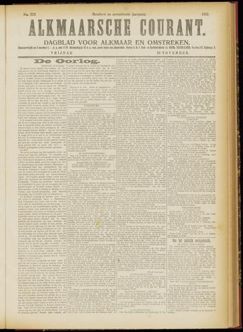Alkmaarsche Courant 1915-11-19