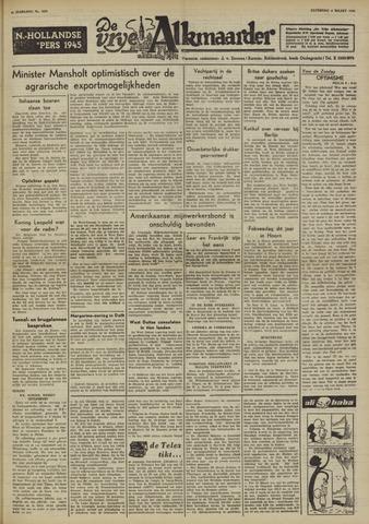 De Vrije Alkmaarder 1950-03-04