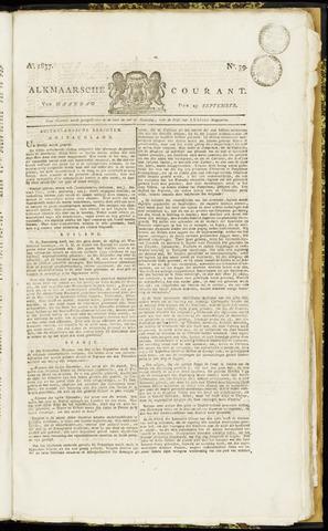 Alkmaarsche Courant 1837-09-25