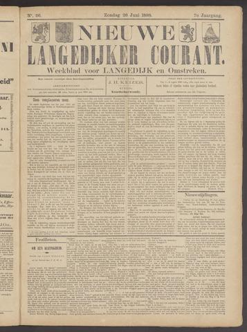 Nieuwe Langedijker Courant 1898-06-26