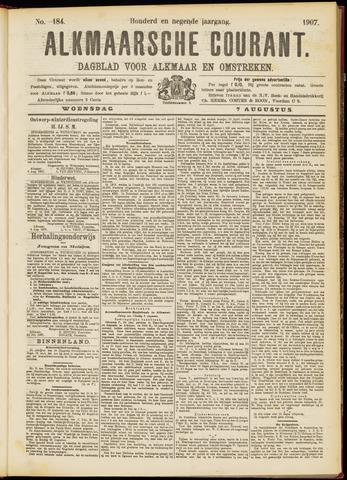 Alkmaarsche Courant 1907-08-07