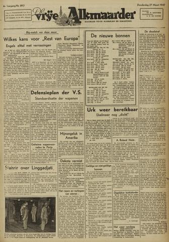 De Vrije Alkmaarder 1947-03-27
