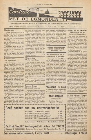 Contact met de Egmonden 1964-04-29