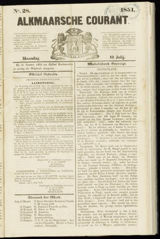 Alkmaarsche Courant 1854-07-10