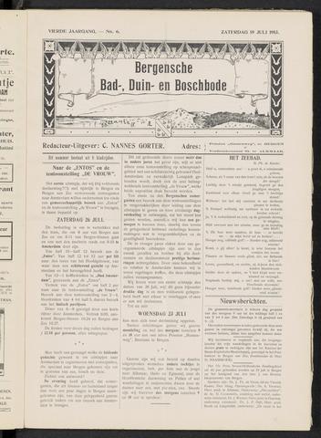 Bergensche bad-, duin- en boschbode 1913-07-19