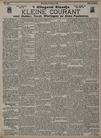 Vliegend blaadje : nieuws- en advertentiebode voor Den Helder 1908-01-29