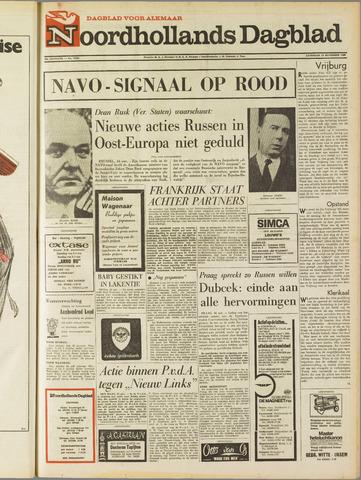 Noordhollands Dagblad : dagblad voor Alkmaar en omgeving 1968-11-16