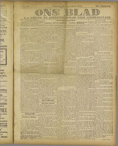 Ons Blad : katholiek nieuwsblad voor N-H 1919-08-12