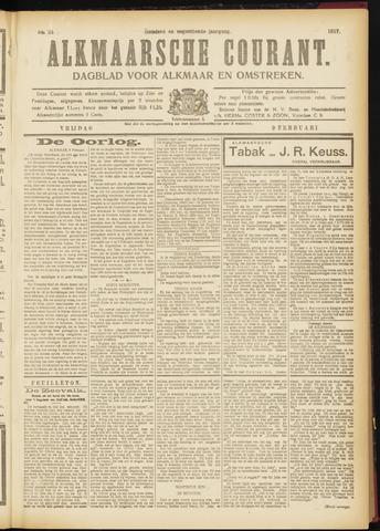 Alkmaarsche Courant 1917-02-09