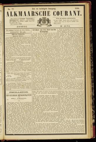 Alkmaarsche Courant 1884-06-29