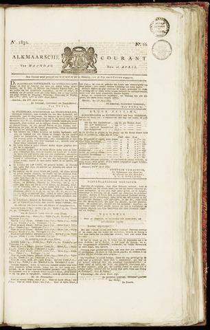 Alkmaarsche Courant 1832-04-16