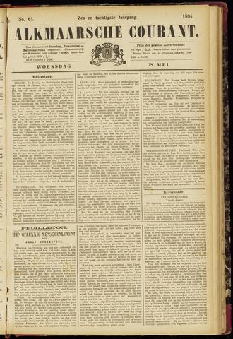 Alkmaarsche Courant 1884-05-28