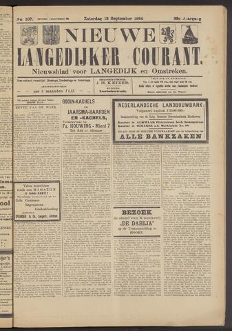 Nieuwe Langedijker Courant 1924-09-13