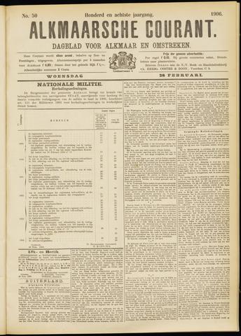 Alkmaarsche Courant 1906-02-28