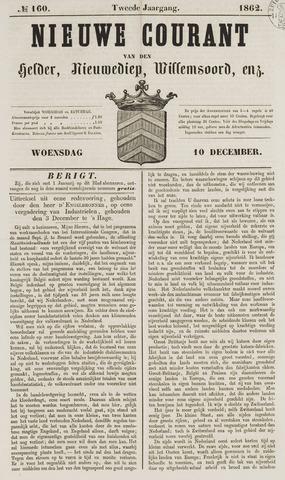 Nieuwe Courant van Den Helder 1862-12-10