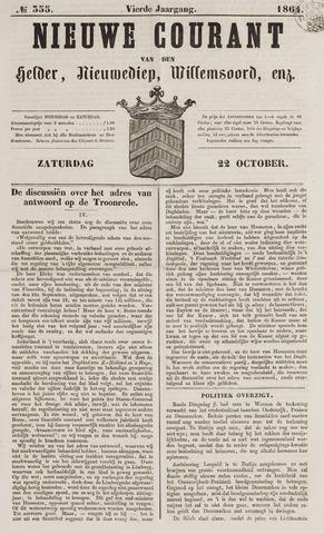 Nieuwe Courant van Den Helder 1864-10-22