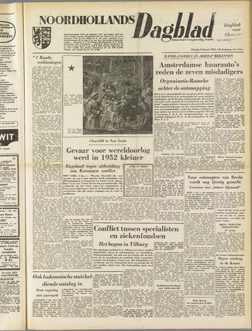 Noordhollands Dagblad : dagblad voor Alkmaar en omgeving 1953-01-06