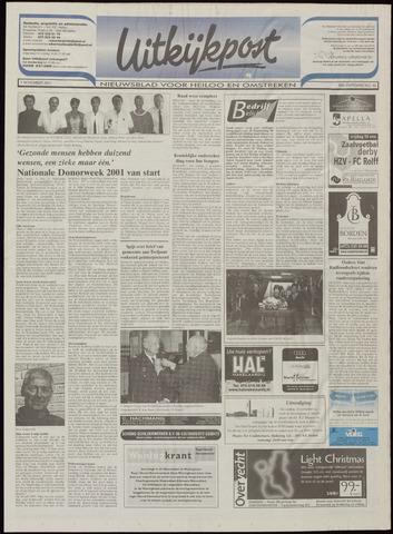 Uitkijkpost : nieuwsblad voor Heiloo e.o. 2001-11-07