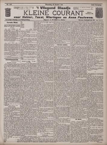 Vliegend blaadje : nieuws- en advertentiebode voor Den Helder 1913-01-29