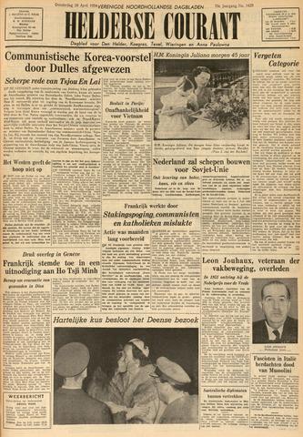 Heldersche Courant 1954-04-29