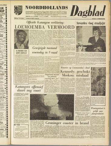 Noordhollands Dagblad : dagblad voor Alkmaar en omgeving 1961-02-14