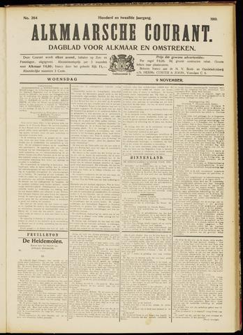 Alkmaarsche Courant 1910-11-09