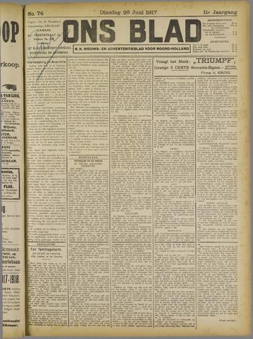 Ons Blad : katholiek nieuwsblad voor N-H 1917-06-26