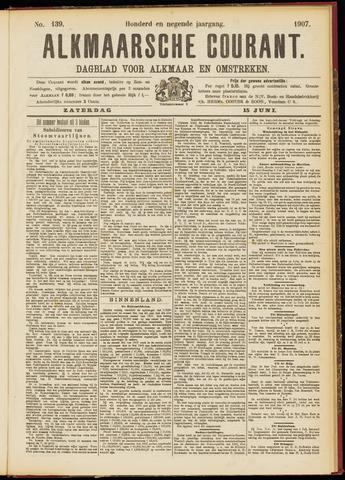 Alkmaarsche Courant 1907-06-15