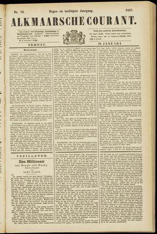 Alkmaarsche Courant 1887-01-28
