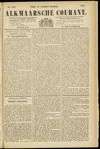 Alkmaarsche Courant 1887-11-13