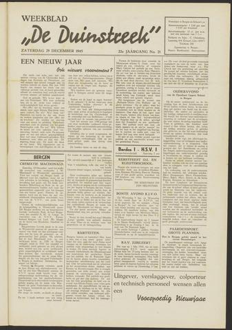 De Duinstreek 1945-12-29