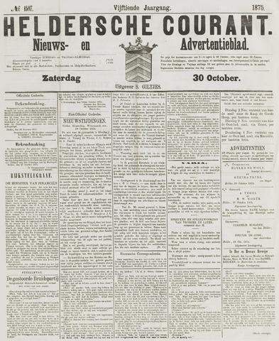 Heldersche Courant 1875-10-30