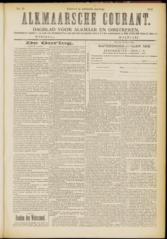 Alkmaarsche Courant 1916-01-19