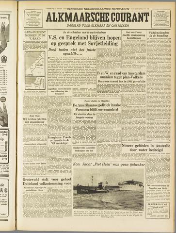 Alkmaarsche Courant 1955-03-03